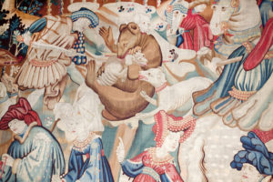 Value of antique tapestry